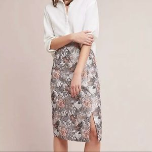 ANTHROPOLOGIE/ISLA MAUDE Clarissa Jacquard Skirt